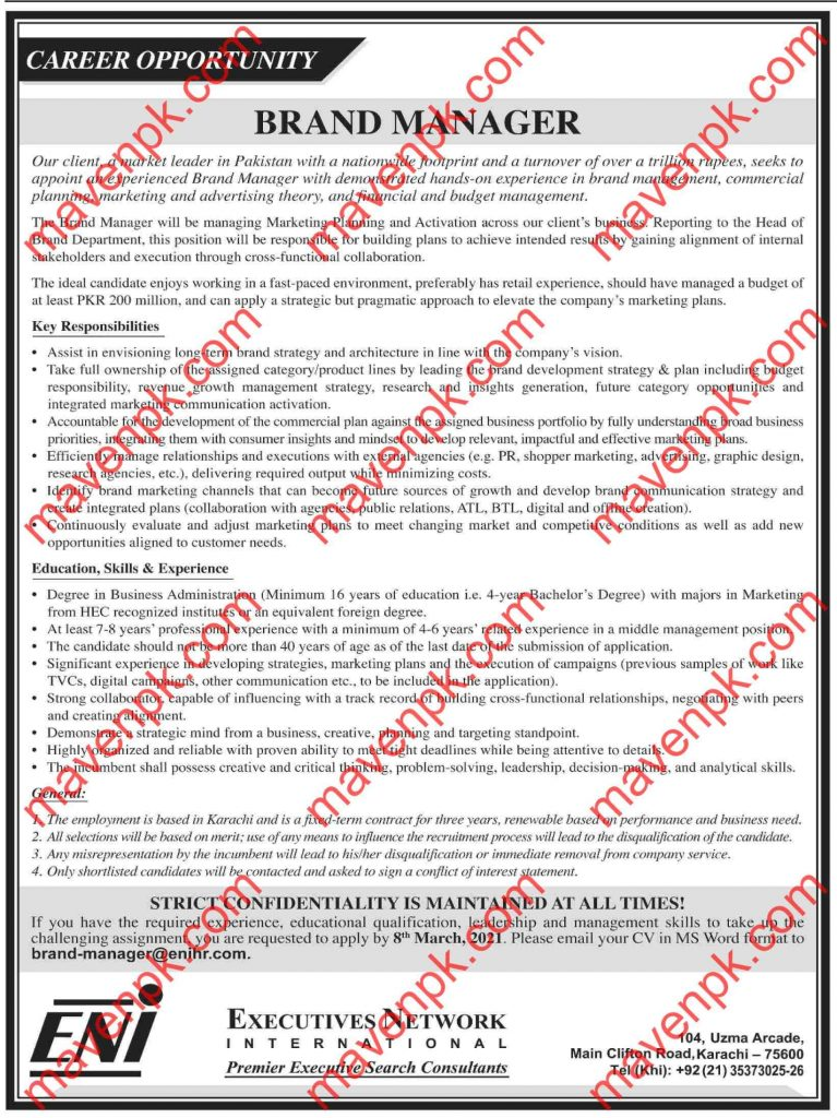 Latest Jobs in Pakistan 21 Feb 2021